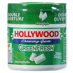 Chewing gums Hollywood Green fresh x70 93.8g