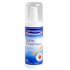 Spray antiseptique incolore HANSAPLAST, 100ml