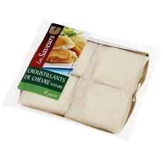 Croustillants de chevre U, 4 pieces, 130g