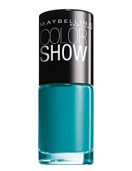 GEMEY MAYBELLINE Colorshow Vernis à Ongles 120 Urban Turquoise