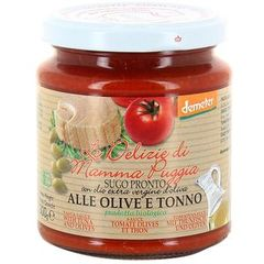 Sauce tomate olive et thon