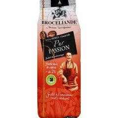 Broceliande, Cafe moulu, pur passion BIO, subtil & aromatique, le paquet de 250 gr