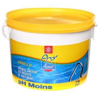 ph moins pro 39 azur 5kg tous les produits piscines et acc ssoires prixing. Black Bedroom Furniture Sets. Home Design Ideas