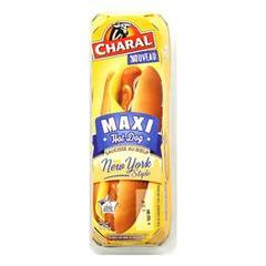 Charal maxi hot dog de boeuf 160g