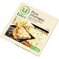 Pizza 3 fromages U BIO, 360g