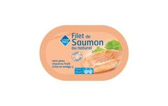 Filet de saumon au naturel 105g