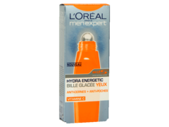 Hydra Energetic - Bille glacee yeux, anticernes + anti-poches, le roll-on de 10ml