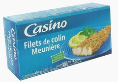 Filets de colin Meuniere