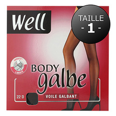 COLLANT BODY GALBE VOILE GALBANT