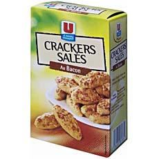 Crackers a^peritif gout bacon U, 85g