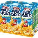 Jus à base de concentré orange JOKER Fruigolo, 6x20cl