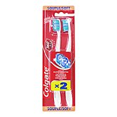 Colgate brosse a dents 360 maxwhite one souple x2