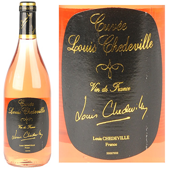 Vin rose Cuvee L. Chedeville 12.5%vol 75cl