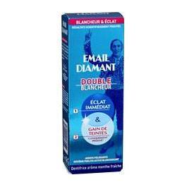 Dentifrice double blancheur Email Diamant tube 75ml