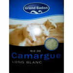Grand Badon riz long blanc origine Camargue 1 kilo