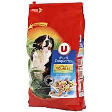 Multi croquettes pour chien a la volaille cereales et legumes u 10kg tous les produits - Comparatif croquettes chien 60 millions ...