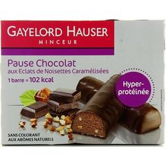 Gayelord Hauser barre chocolat et noisettes 300g