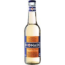 Boisson gazeuse bio au gingembre et a l'orange BIONADE, 33cl