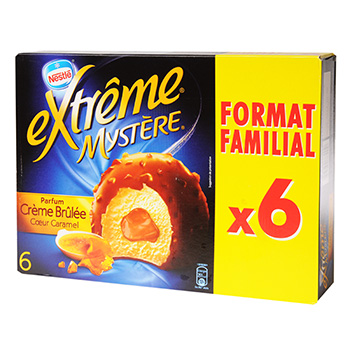 Extreme mystere creme brulee 780 ml