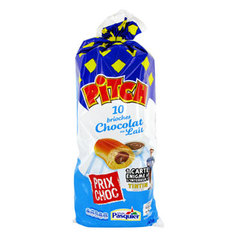 Brioches chocolat au lait - Pitch Le 2ème à -50%
