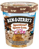 BEN & JERRY'S cookie core speculoos, 416g