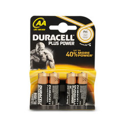 PILE DURACELL AA LR06 PLUS POWER X4