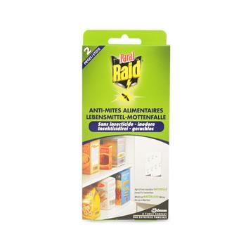 Anti mites alimentaires raid x2 tous les produits for Produit anti mite