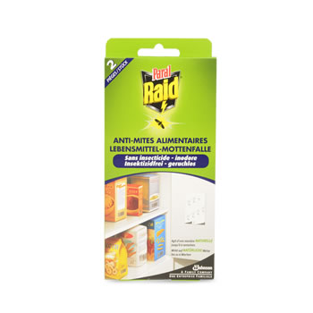 anti mites alimentaires raid x2 tous les produits insecticides prixing. Black Bedroom Furniture Sets. Home Design Ideas