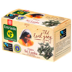 The noir earl grey Entr'aide Max Havelaar 40g