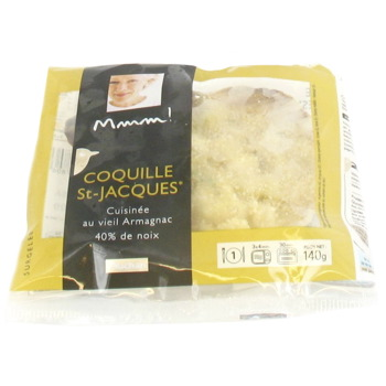 Mmm! coquille st jacques a l'armagnac 140g