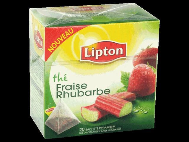 the parfume fraise rhubarbe lipton 20 sachets 34g tous les produits th s prixing. Black Bedroom Furniture Sets. Home Design Ideas