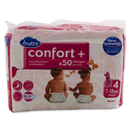 Auchan baby confort + jumbo maxi 7/18 kg x50 taille 4