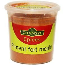 Piment fort moulu Chamsyl, 60g
