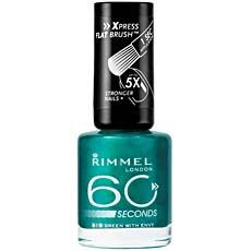 Vernis a ongles 60 Seconds RIMMEL, n°819, Green with Envy, 8ml
