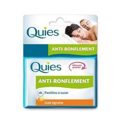 Pastilles anti-ronflement QUIES, 18 unites