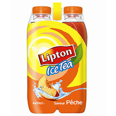 Lipton Ice Tea peche 4x50cl