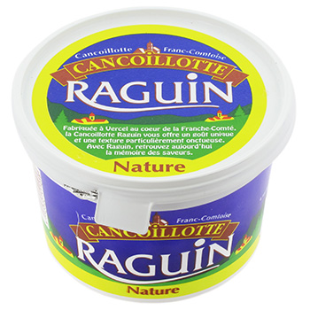 Raguin, Cancoillotte nature, le pot de 500g