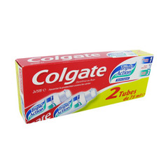 Colgate Dentifrice Triple action 2x75ml