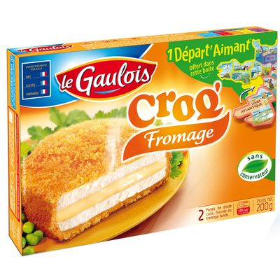 Croq' fromage LE GAULOIS, 2x100g