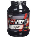 FREY Nutrition Support Musculaire pour Sportifs Triple Whey Vanille 750 g