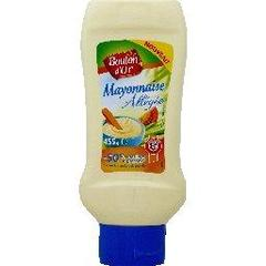 Mayonnaise allegee, le flacon de 445g