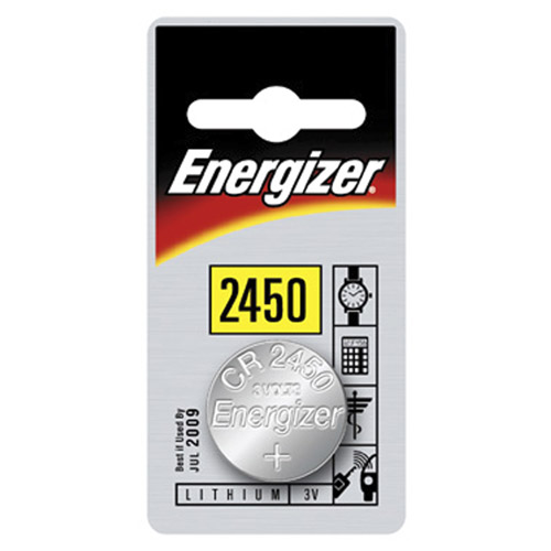 PILE MINIATURE ENERGIZER CR2450 AU LITHIUM- 3 VOLTS