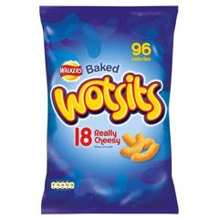 Walkers Wotsits Really Cheesy Corn Puffs (14x17g)