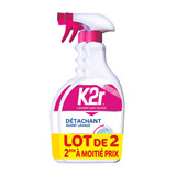 pistolet detachant avant lavage k2r 750ml x2 dont le 2ieme a -50%
