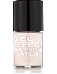 Layla Cosmetics Milano Gel Effet Vernis à Ongles Pretty Nude 10 ml