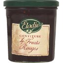 Confiture 4 fruits rouges, le pot, 370g