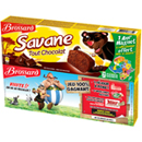Brossard savane pocket tout chocolat x7 lot de 2x189g
