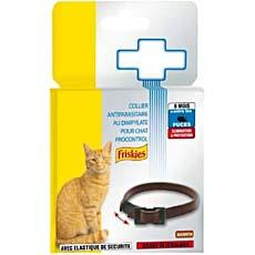 Collier anti parasites pour chat Procontrol FRISKIES, marron