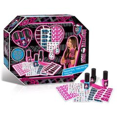 Manucure Party Monster High