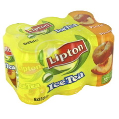 Lipton Ice Tea peche light 6x33cl prix choc